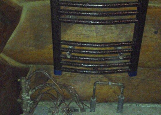 Připojení topných žebříků