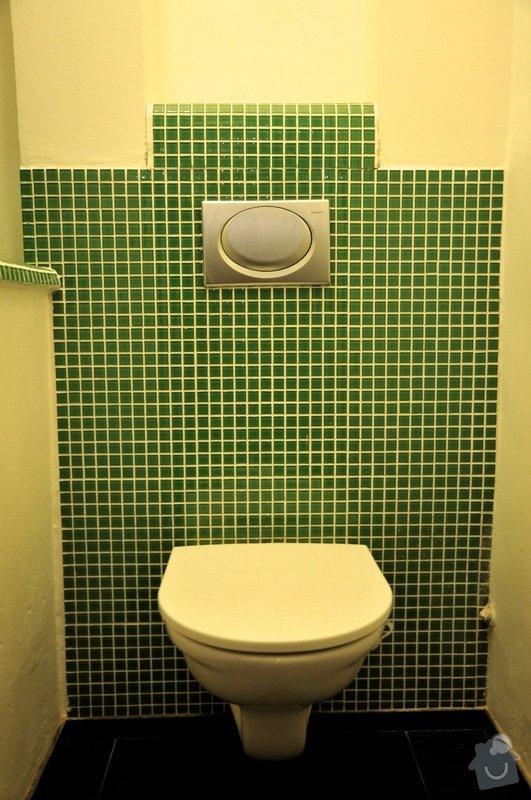 REKONSTRUKCE BYTU: WC