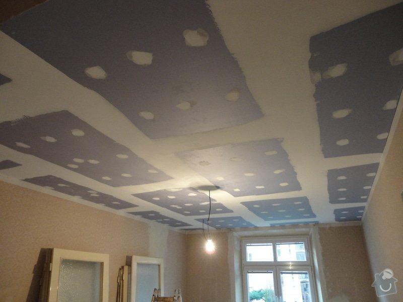 Sádrokarton - stropy s ukotvením: DSC01541