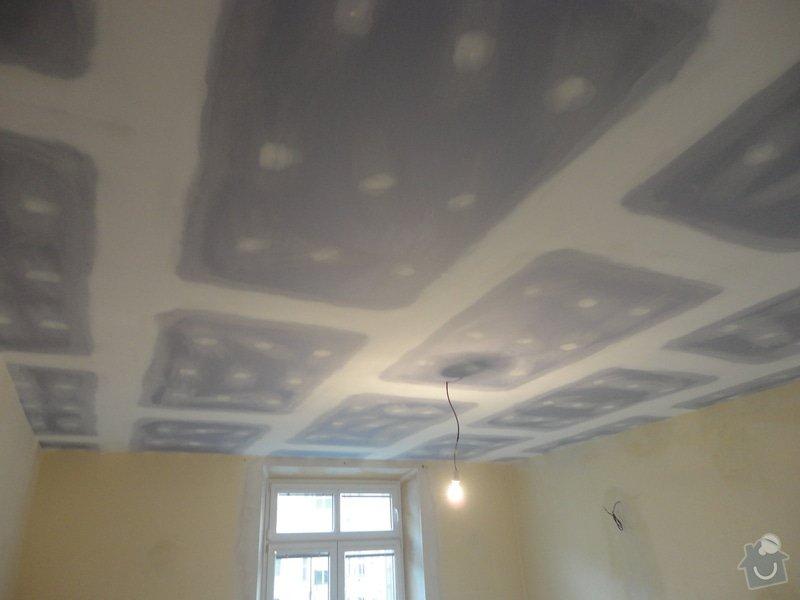 Sádrokarton - stropy s ukotvením: DSC01544