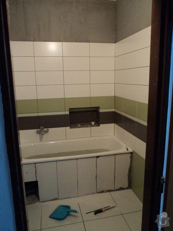 Rekonstrukce koupelny cca 2 x 1,6m: 3