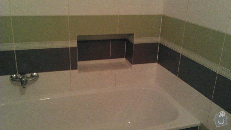 Rekonstrukce koupelny cca 2 x 1,6m: 4