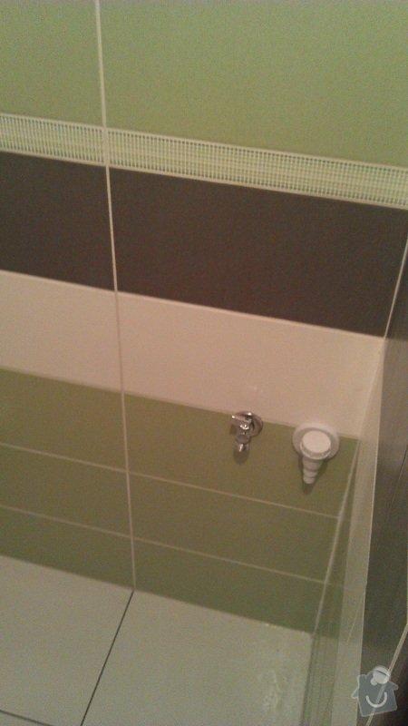 Rekonstrukce koupelny cca 2 x 1,6m: 5