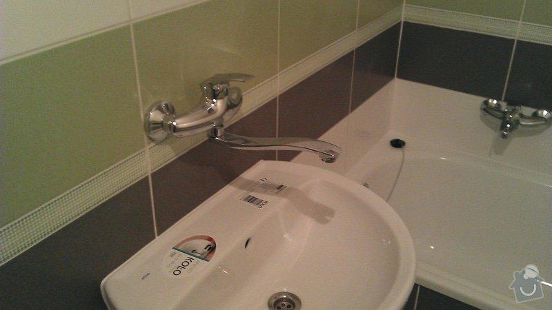 Rekonstrukce koupelny cca 2 x 1,6m: 6