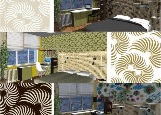 Návrh rekonstrukce ložnice