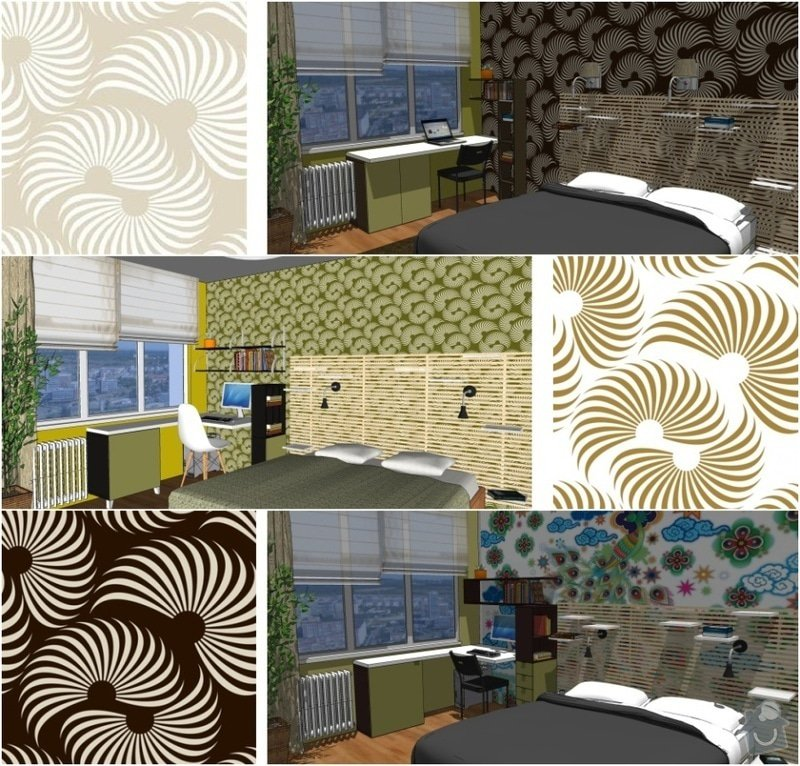 Návrh rekonstrukce ložnice: loz_Tr_vyber