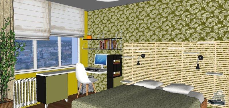Návrh rekonstrukce ložnice: Tr_loz_4