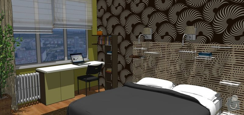 Návrh rekonstrukce ložnice: Tr_loz_5