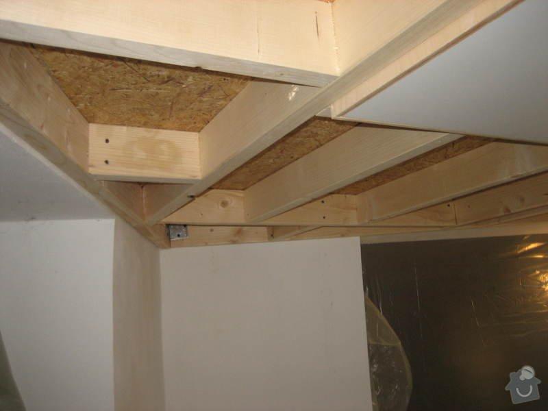 Zateplení a sádrokartonový strop ve 2 místnostech: IMG_0100