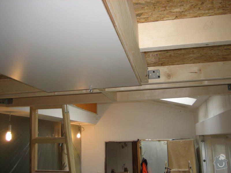 Zateplení a sádrokartonový strop ve 2 místnostech: IMG_0101