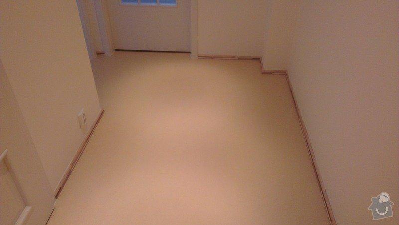 Laminátová podlaha + marmoleum: IMA1