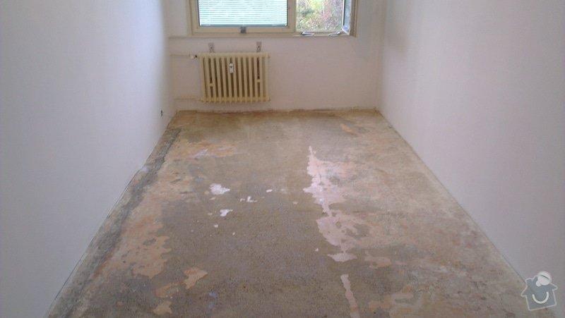 Laminátová podlaha + marmoleum: IMA2