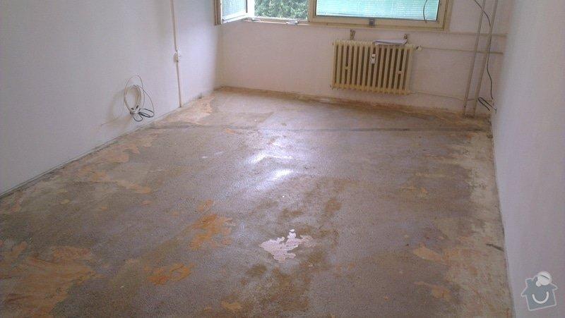 Laminátová podlaha + marmoleum: IMA3