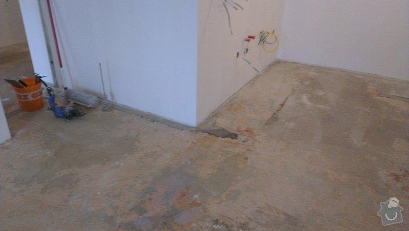 Laminátová podlaha + marmoleum: IMA4