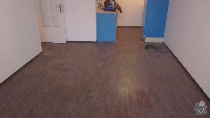 Laminátová podlaha + marmoleum: IMA7