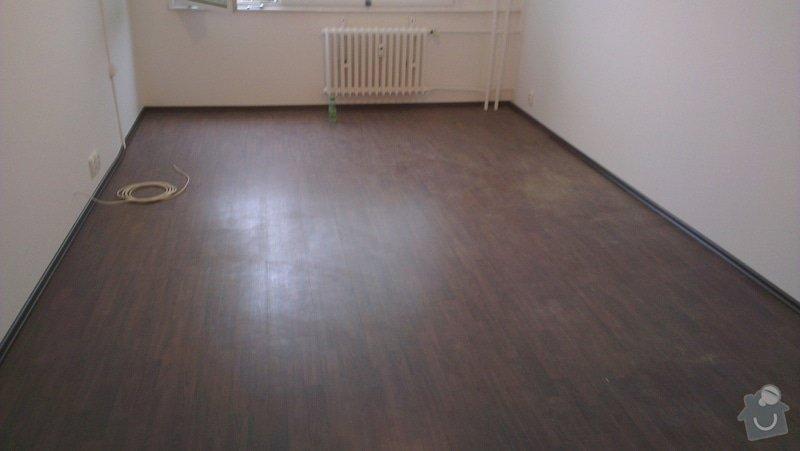 Laminátová podlaha + marmoleum: IMA8