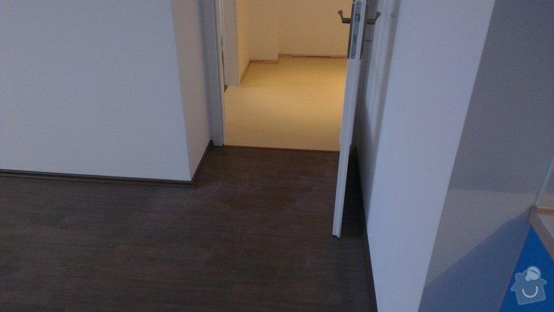 Laminátová podlaha + marmoleum: IMA9