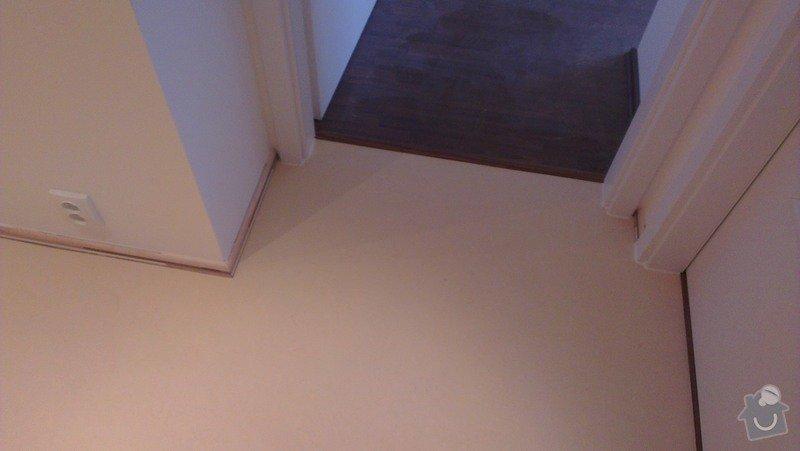 Laminátová podlaha + marmoleum: IMA12
