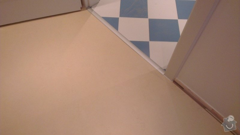 Laminátová podlaha + marmoleum: IMA13