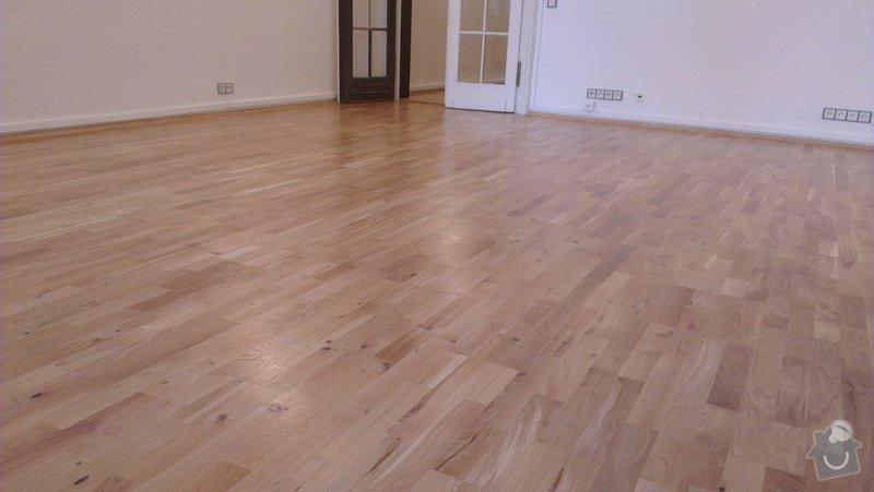 Třívrstvá dřevěná podlaha: 1