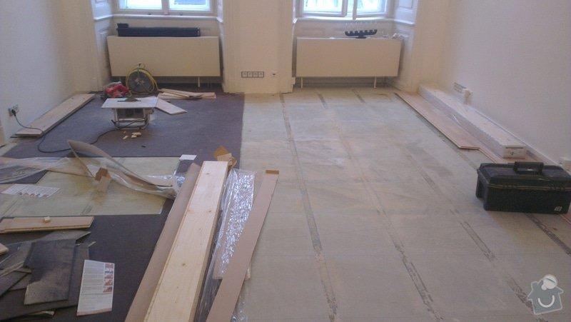 Třívrstvá dřevěná podlaha: 2