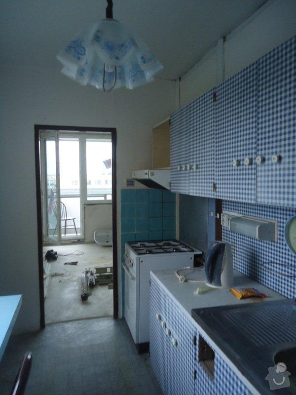 Rekonstrukce bytu 3+1 v panelovém domě: 06