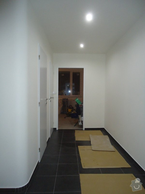 Rekonstrukce bytu 3+1 v panelovém domě: 09