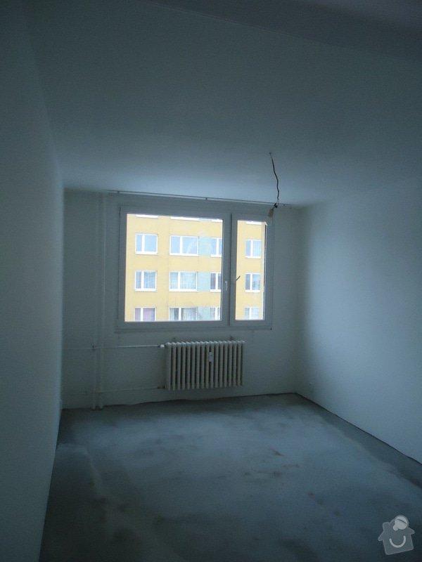 Rekonstrukce bytu 3+1 v panelovém domě: 12