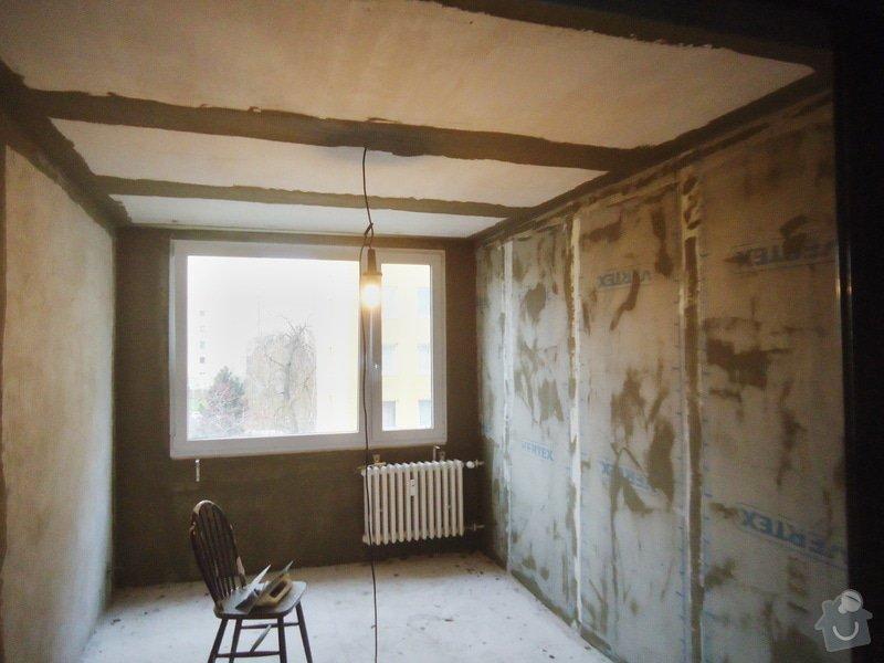 Rekonstrukce bytu 3+1 v panelovém domě: 14
