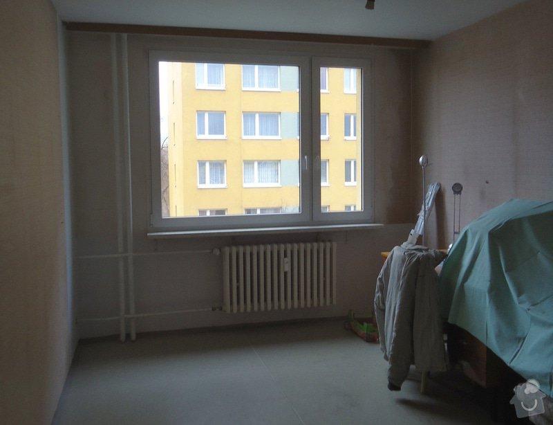 Rekonstrukce bytu 3+1 v panelovém domě: 20