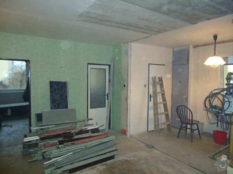 Rekonstrukce bytu 3+1 v panelovém domě: 21