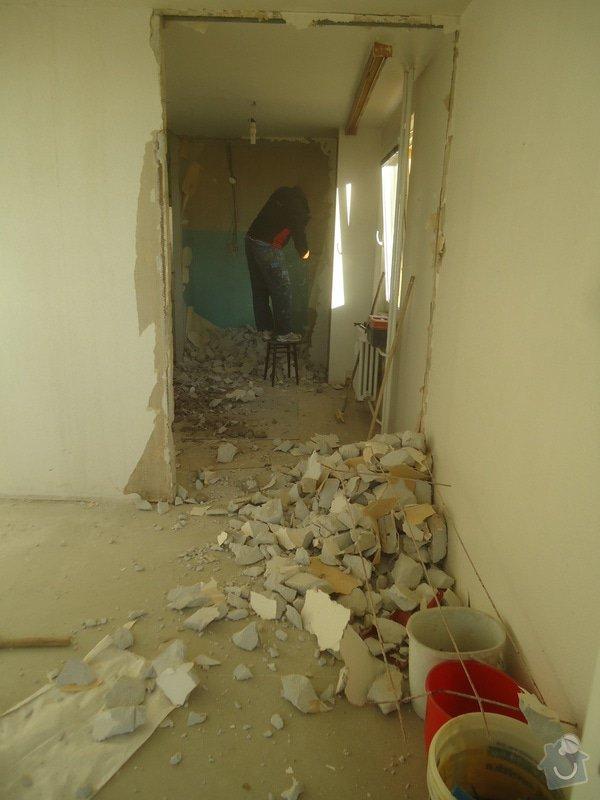 Rekonstrukce bytu 3+1 v panelovém domě: 22