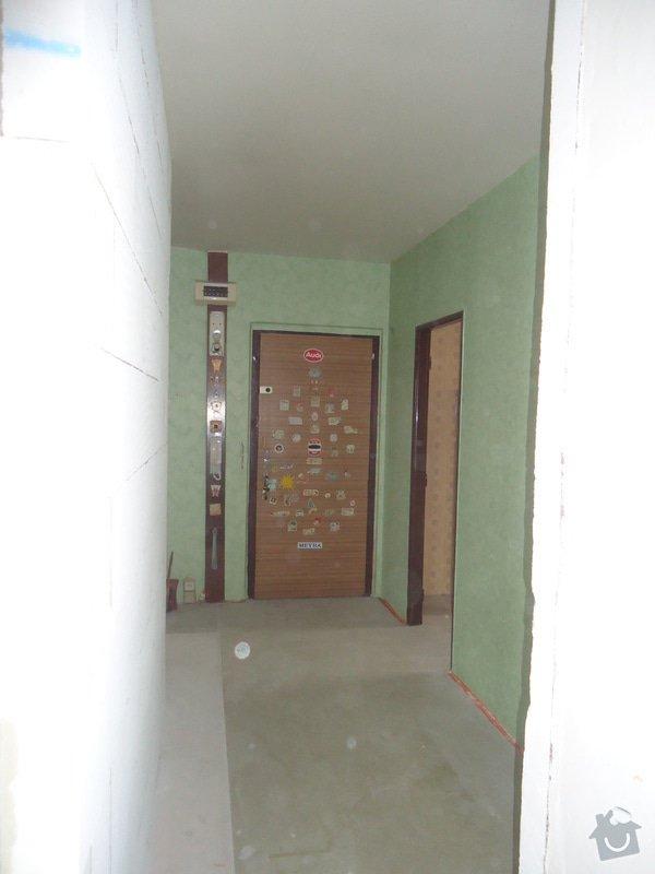 Rekonstrukce bytu 3+1 v panelovém domě: 24