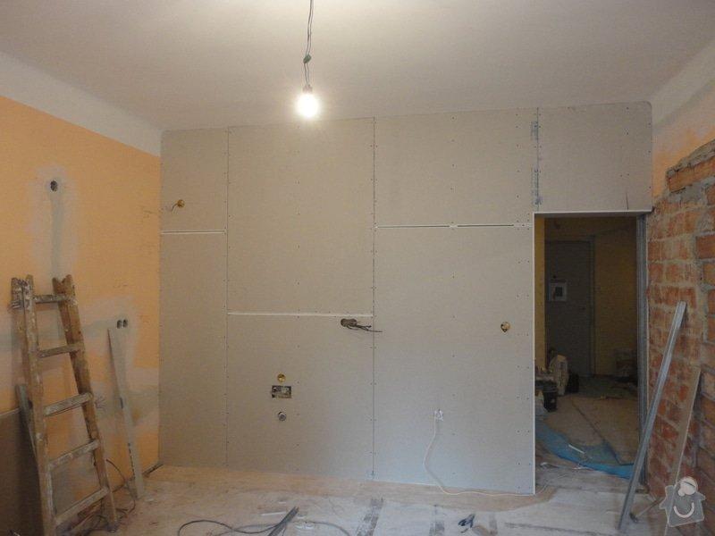 Předsazené stěny: DSC01631
