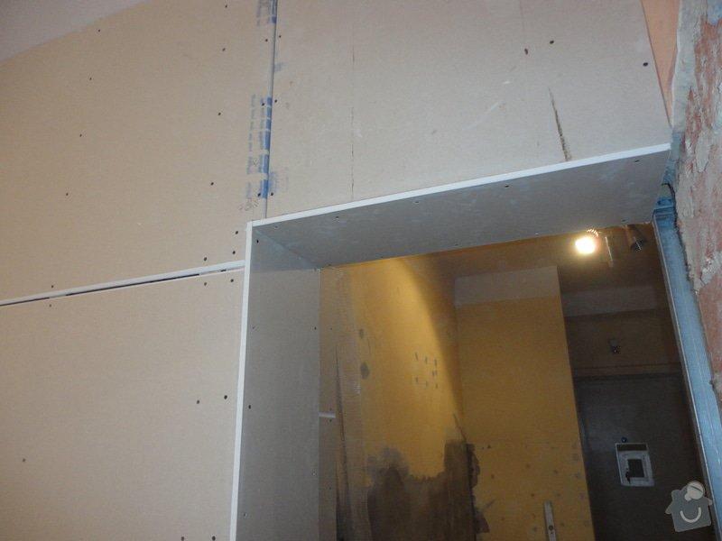 Předsazené stěny: DSC01634