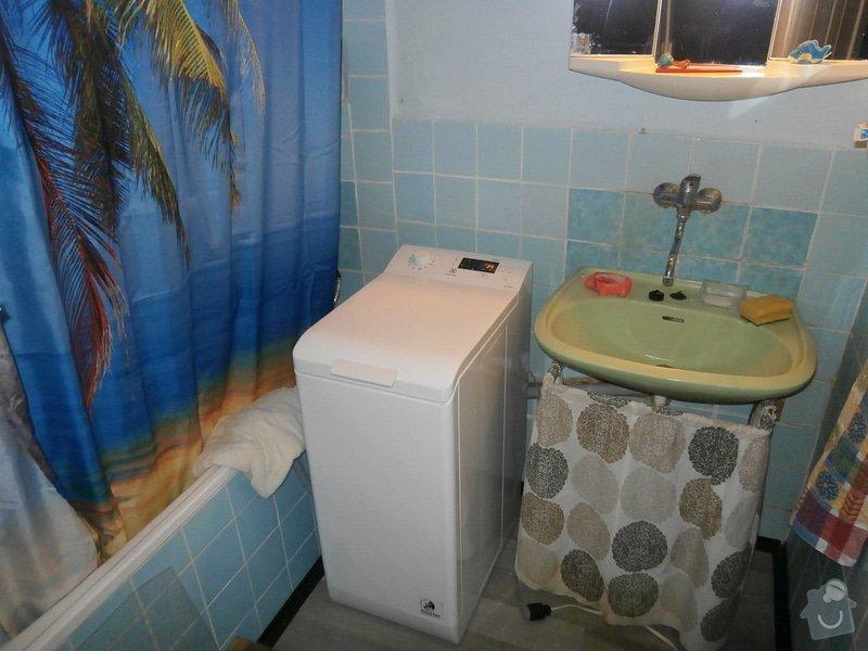 Obložení předku vany 175x55 cm dlaždičkama nebo něčím :): koupelna