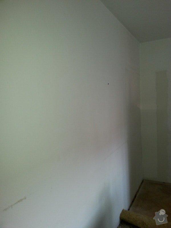 Odhlučnění stropu a stěny v paneláku.: 20140106_092140