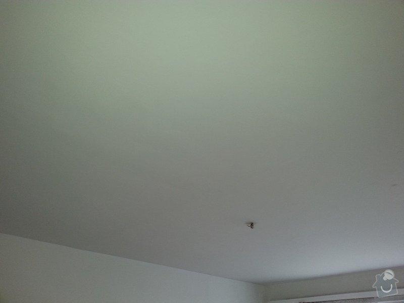 Odhlučnění stropu a stěny v paneláku.: 20140106_092146