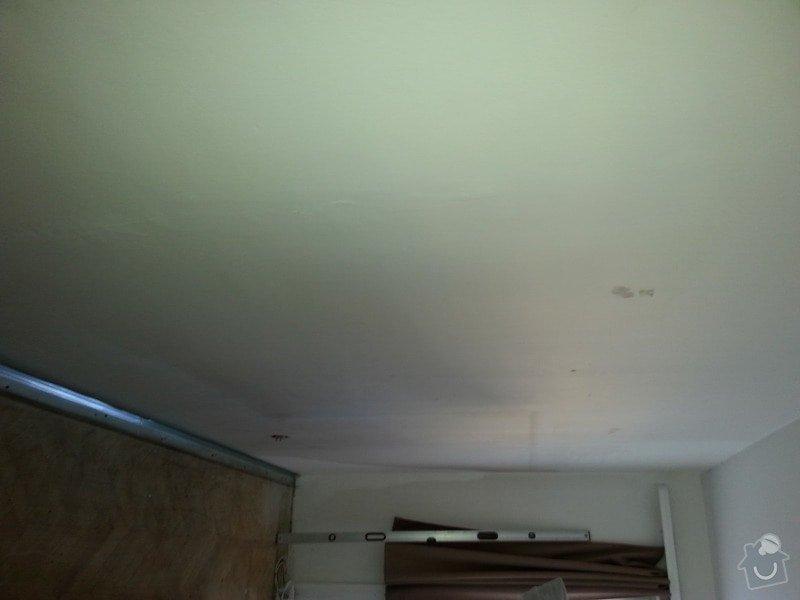Odhlučnění stropu a stěny v paneláku.: 20140106_092158