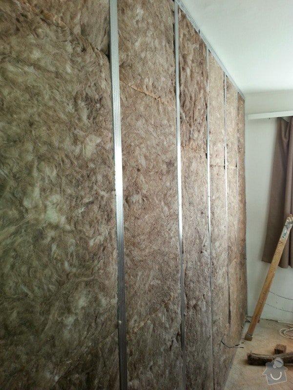 Odhlučnění stropu a stěny v paneláku.: 20140106_101511