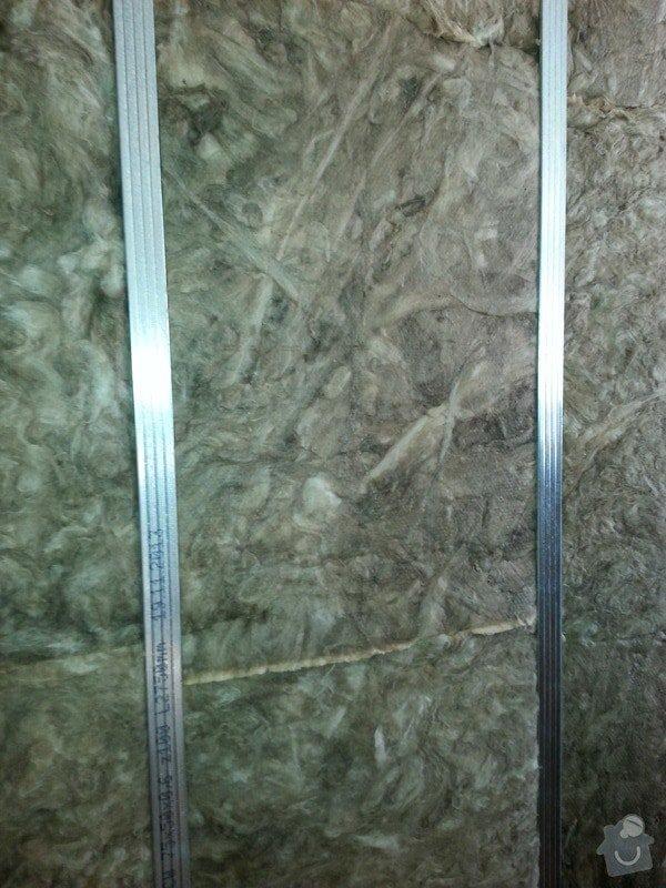 Odhlučnění stropu a stěny v paneláku.: 20140106_101523