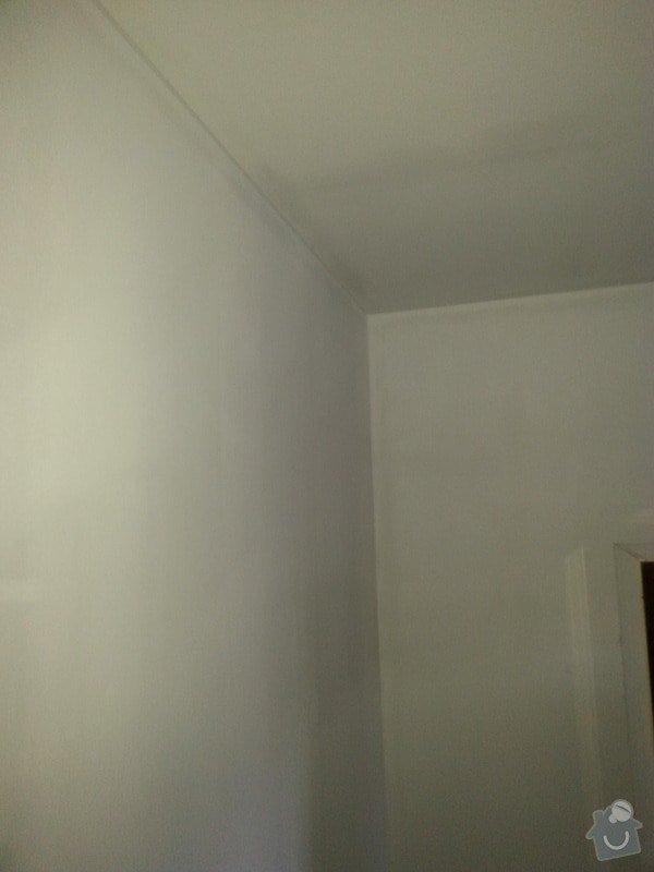 Odhlučnění stropu a stěny v paneláku.: 20140107_154745