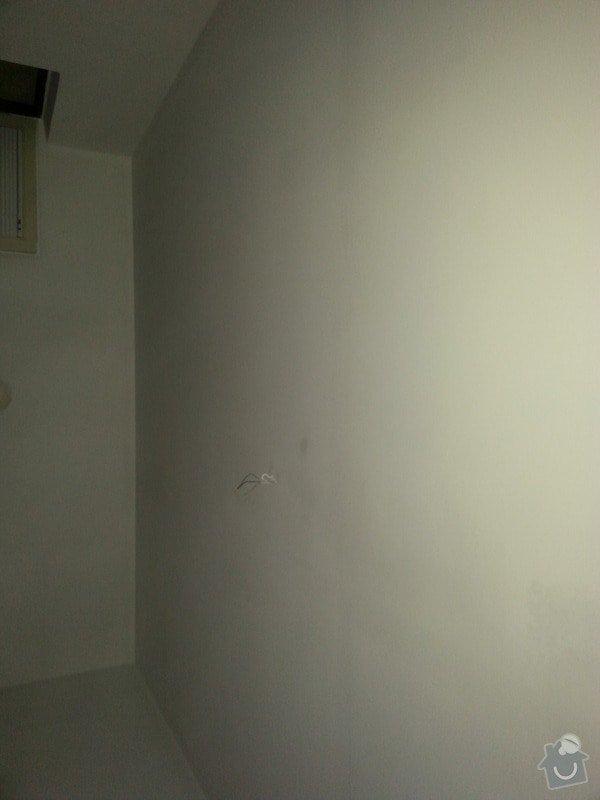 Odhlučnění stropu a stěny v paneláku.: 20140107_154800