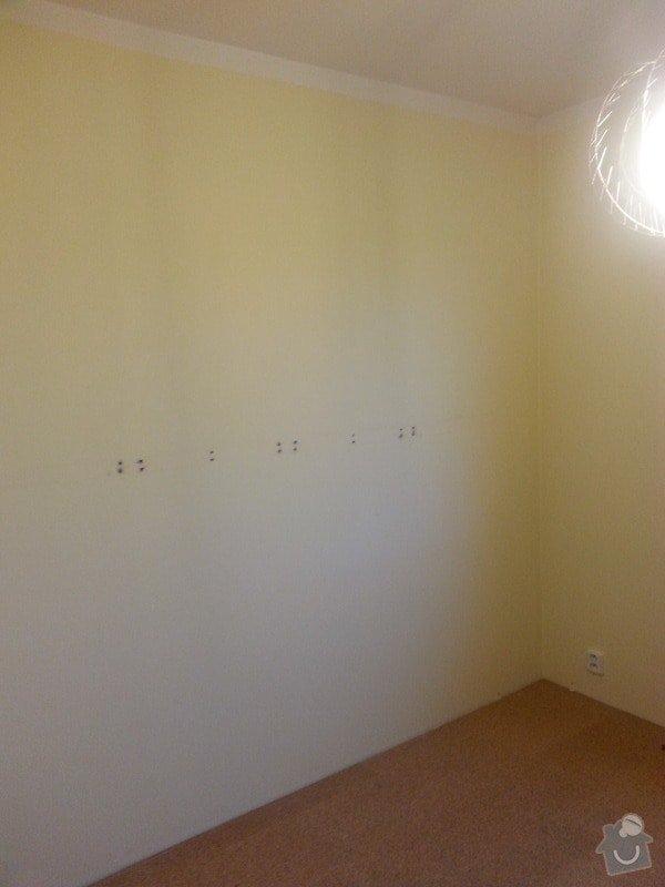 Odhlučnění stěny-malování : 20140120_095702