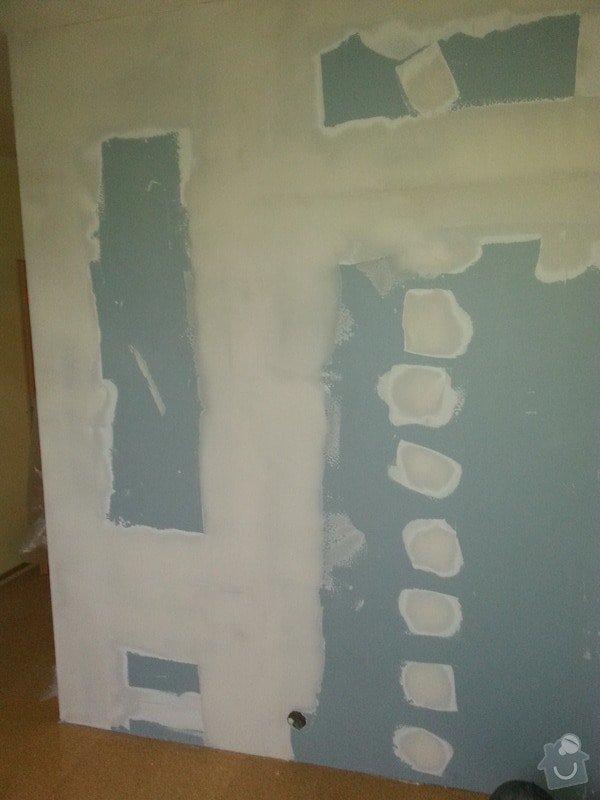 Odhlučnění stěny-malování : 20140120_144146