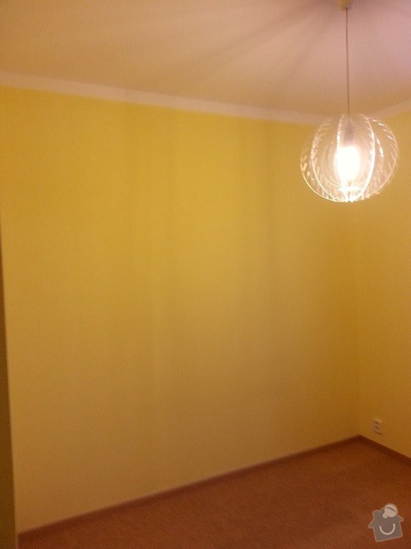 Odhlučnění stěny-malování : 20140121_160538