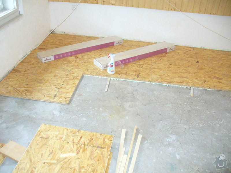 Provedení dřevěné podlahy: Jamne_1