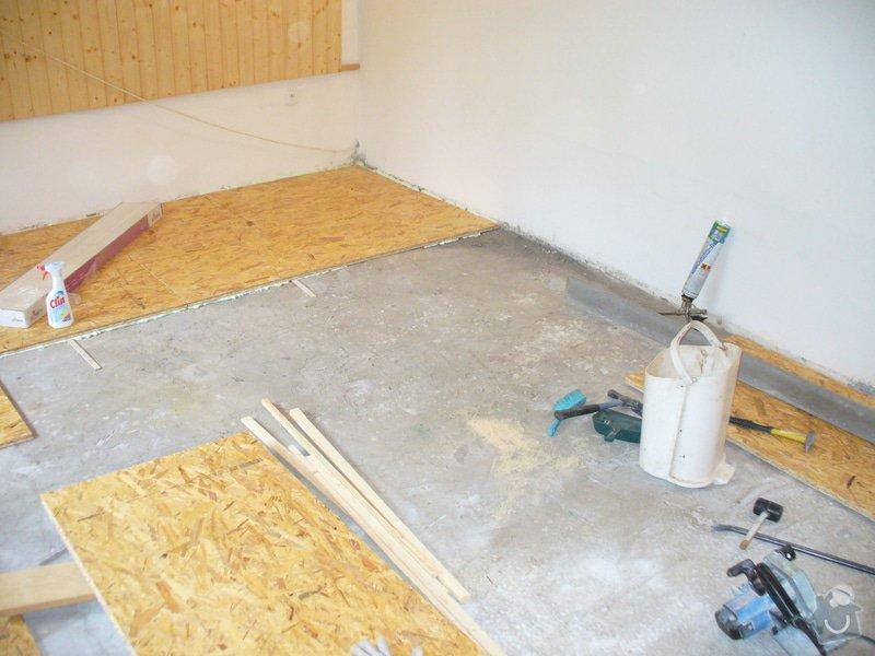 Provedení dřevěné podlahy: Jamne_2