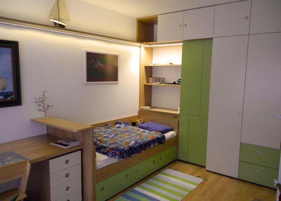Návrh interieru obývacího a dětského pokoje