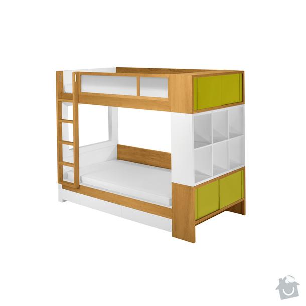 Nábytek na míru - patrová postel - 2 VARIANTY: 79898-610x610-1330382843-primary